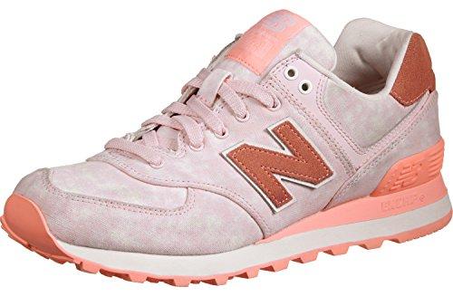 New Balance Damen 574 Textile Sneaker Pink