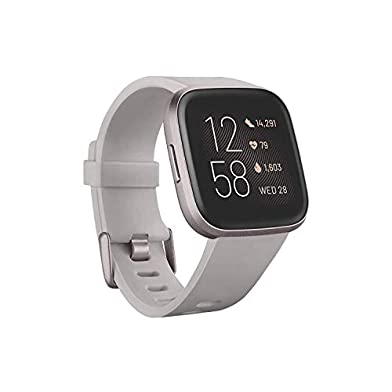 Fitbit-Versa-2-Health-and-Fitness-Smartwatch-with-Heart-Rate-Music-Alexa-Built-In-Sleep-and-Swim-Tracking-StoneMist-Grey-One-Size-S-and-L-Bands-Included