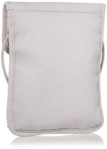 41iG3i4a1UL - Pacsafe Coversafe X75 Anti-Theft RFID Blocking Neck Pouch, Neutral Grey