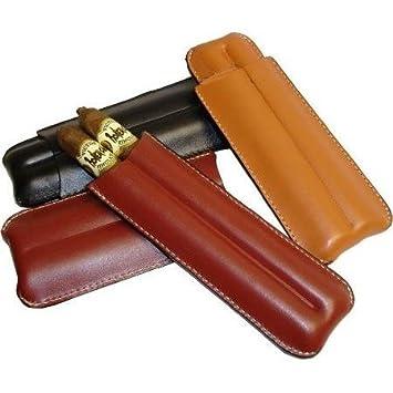 Amazon.com: 2 dedo Camel funda de piel Cigar Humidor: Health ...