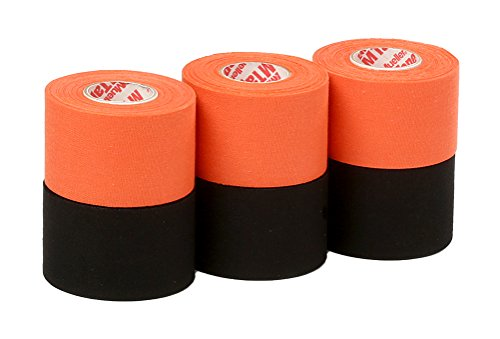 - Mueller Athletic Tape Sports Tape, Orange and Black 6 rolls