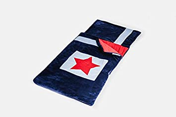 Snuggle Sac My First Navy Star - Saco de dormir infantil, color azul y rojo: Amazon.es: Juguetes y juegos