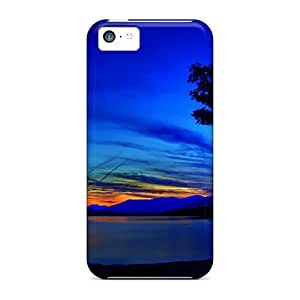 linJUN FENGNew Surreal Blue Cases Covers, Anti-scratch ChrisHuisman Phone Cases For ipod touch 5