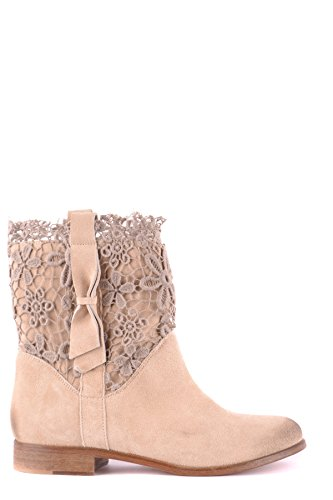 Femme Bottines Twin Mcbi302223o Beige set Suède 5qXqPp