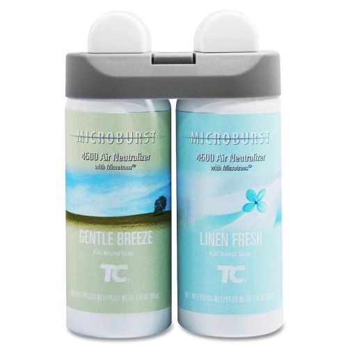 Wholesale CASE of 5 – Rubbermaid GNTL Breeze /リネンFresh Fragrnce refill-microburst Duet Refills , 4 / CT、Gentle Breeze /リネンFresh B00EK3CR86