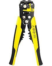 Sxiocta Striptang 3-in-1, multifunctionele tang voor automatisch handgereedschap, snijder, 20,3 cm (8 inch) (geel)