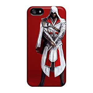 Shock-Absorbing Hard Phone Covers For Apple Iphone 5/5s (cim1496UxpQ) Unique Design Attractive Rise Against Pattern