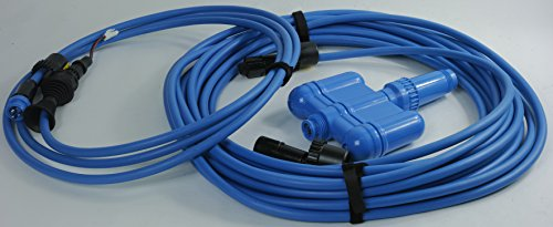 NC7123 - New. 60 feet Long Floating Cord with Swivel for Smartpool Scrubber 60, Nitro NC71, NC72, NC74. Quality and Affordable Pool Robot Accessory by EZ Care