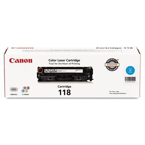 Canon Original 118 Toner Cartridge - Cyan