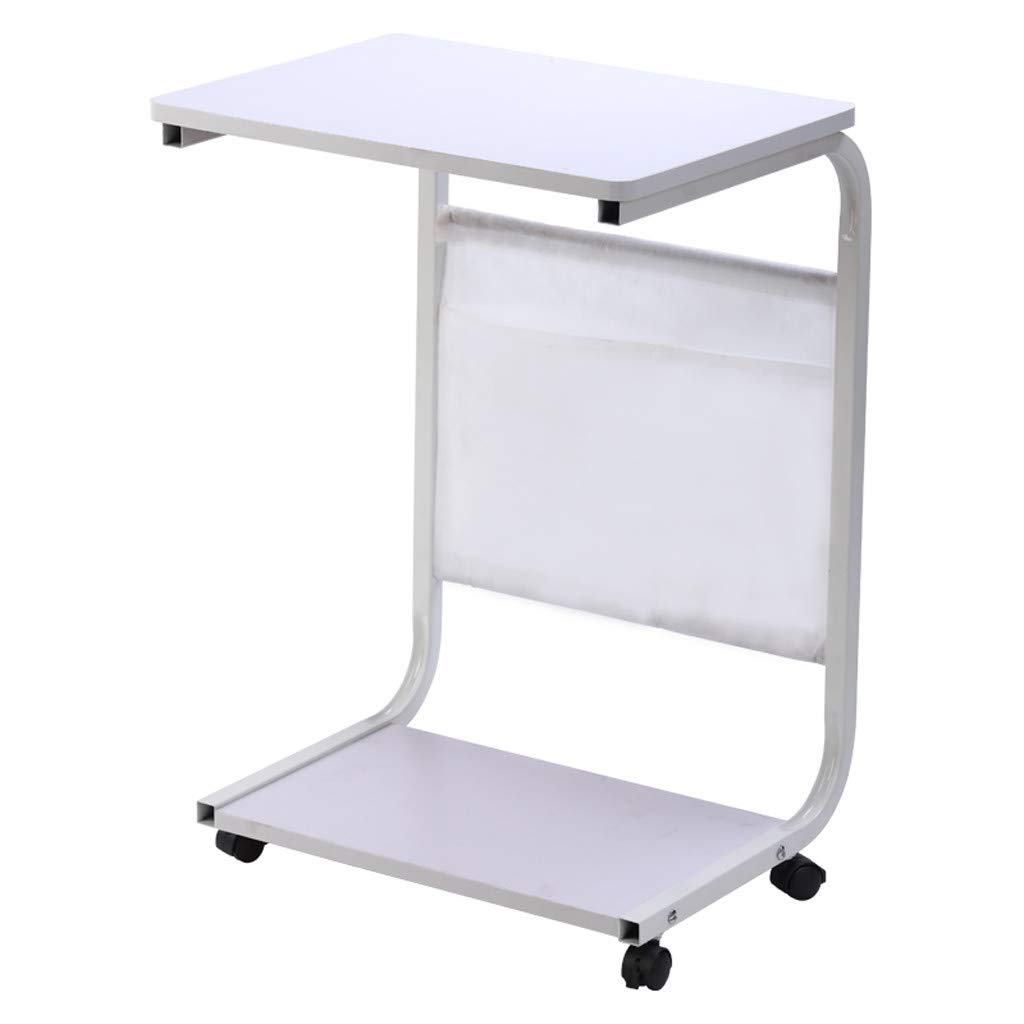 - Amazon.com: Transser Portable Laptop Rolling Cart Standing Table Bedside  Mobile Laptop Computer Stand Desk Coffee Table With Removable Wheels And  Storage Bag, 18x13inch, Shipping From NJ. (White): Musical Instruments