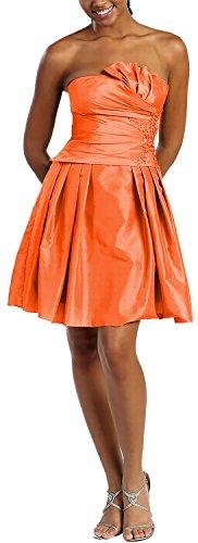 Básico Para Vestido Noche Mujer lerche Nachtigall Naranja q4gnBwtFvW