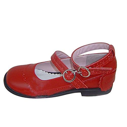 Women's Lady 5cm 9129 Mtxc Punk Heel Red Wine Shoes 1 Lolita tdfwAB1anq