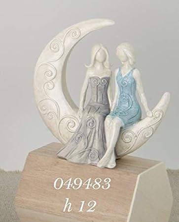 Bomboniere Matrimonio Civile.Coppia Sposi Lei Lei Su Luna Bomboniera Matrimonio Civile Cake
