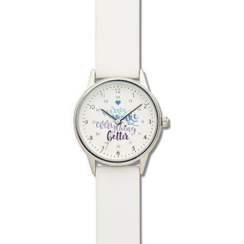 Nurse Mates Women's 1″; Strap Nurse Watch Nurses Slogan