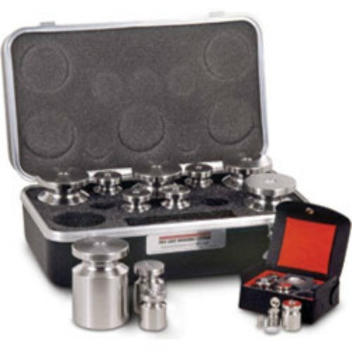 5 KG - 1 MG Rice Lake Stainless Steel Class F Calibration Weight Set With Traceable NIST Certificate NEW by Rice Lake
