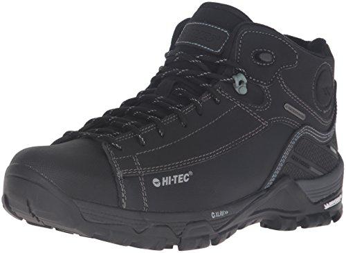 Hi-Tec Men's Trail OX Chukka I Waterproof-M Hiking Boot, Black/Goblin, 10 M US (Mens Hiking Boots Hi Tec)