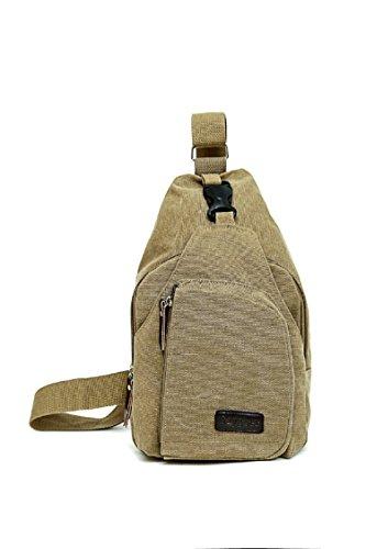 Mono Sling Backpack (Saygoer Sling Bag Canvas Cross Body Backpack with Adjustable Strap)