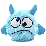 OLJF Automatic Dog Toys Interactive Plush Giggle Ball Shake Squeak Toys Exercise Electronic Toy for Puppy Motorized Entertainment for Pets,A