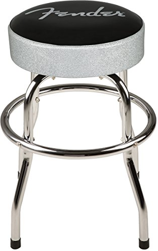 Fender Silver Sparkle Barstool - 24 Inch