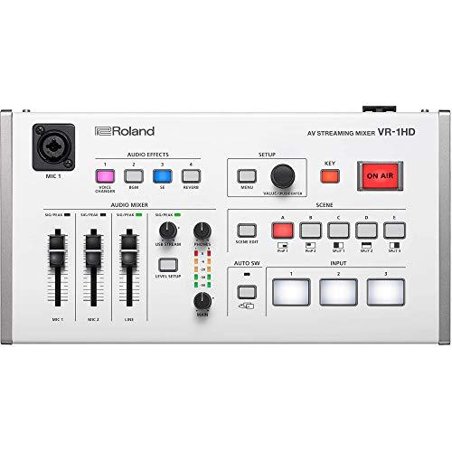 Roland Professional A/V VR-1HD AV Streaming Mixer