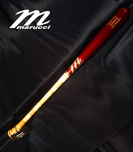 (CUTCH22 Custom Pro Maple Baseball Bat, Inferno/Cherry 32