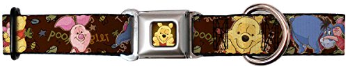 Walt Disney Movies TV Shows Pooh & Friends Seatbelt Fun Pet Dog Cat Collar (Eeyore Character)
