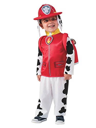 Rubie's Costume Toddler PAW Patrol Marshall Child Costume, One Color, 1-2 Years -