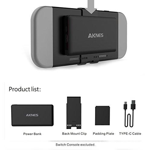 Zantec - Cargador portátil extraíble de 10000 mAh para batería ...