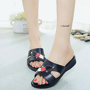 SHOES-XJIH&Uomini sandali Comfort molla Tulle informale comfort Orange Appartamento,arancione,noi10.5 / EU43 / UK9.5 / CN45