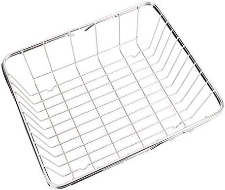 xnbnsj Rack Cesta de desag/üe de acero inoxidable Fregadero telesc/ópico Rack Rectangular Fregadero de platos