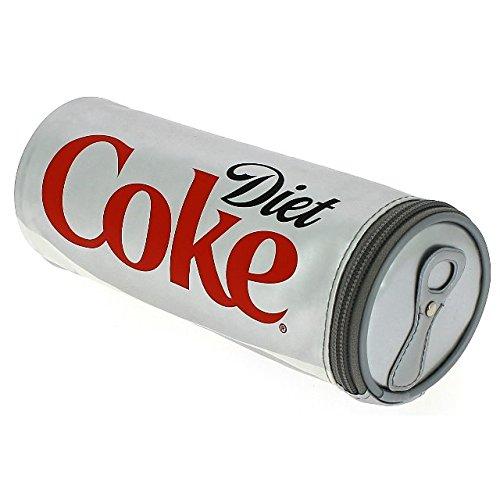 Coca-Cola Official Diet Coke Design School Barrel Pencil Case