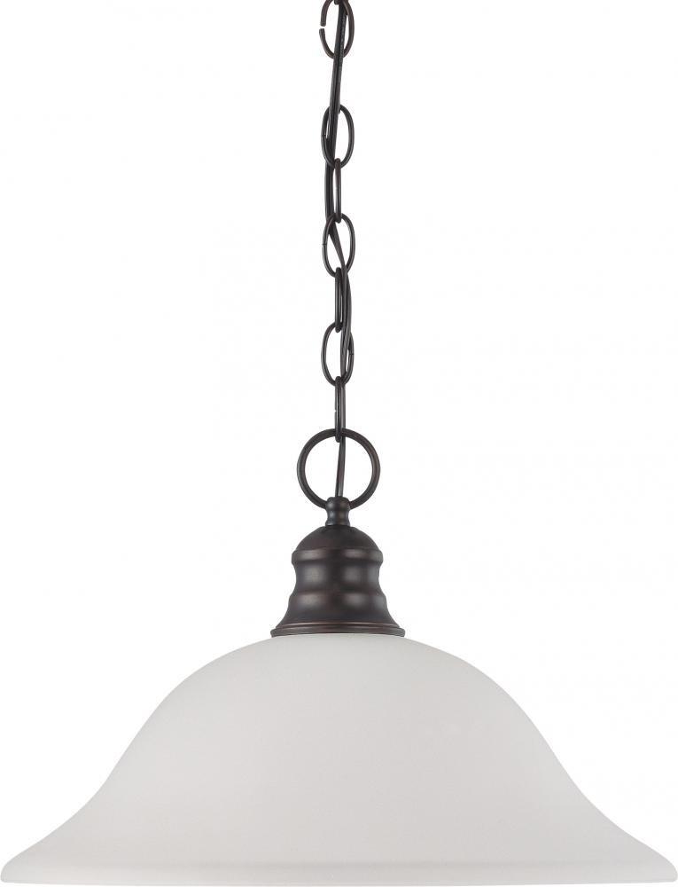 Nuvo Gothamシャンデリア 60/3173 1 B00367Y05K Mahogany Bronze / Frosted Glass|ハンギングドーム(Hanging Dome) Mahogany Bronze / Frosted Glass