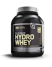 Optimum Nutrition ON Platinum Hydro Whey, Proteinas en polvo, para masa muscular y musculacion, fuente de BCAA