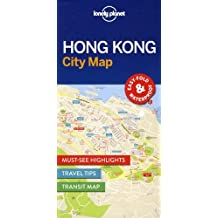 Lonely Planet Hong Kong City Map 1st Ed.