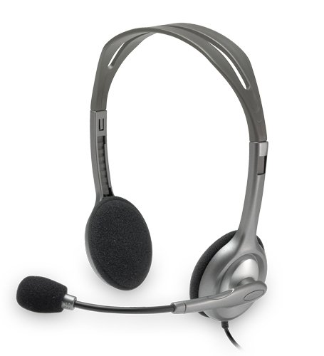 Stereo H110 Behind Head Headset 3.5mm