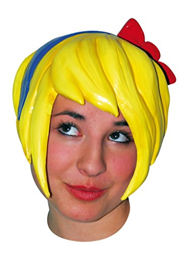 (Anime Pixie Latex Wig with)