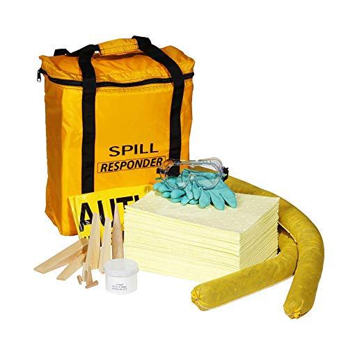 SpillTech Hazmat Fleet Spill Kit, 60 Pieces (SPKHZ-Fleet)