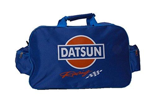 Datsun Azul Logo bolsa de viaje bolsa bolso de deporte gimnasio