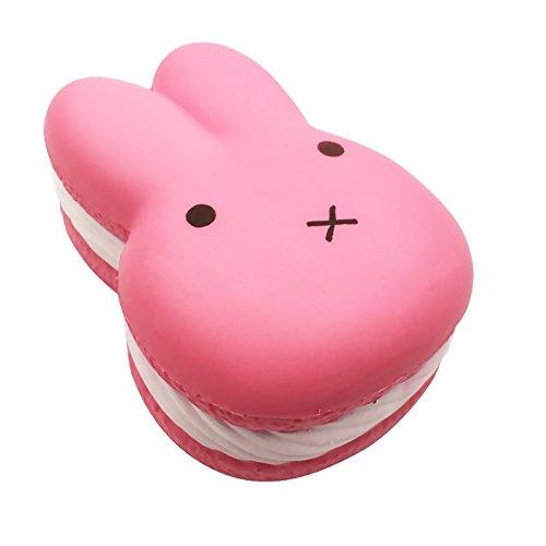 Kutzi Mutzi's Jumbo Squishy Kawaii Rabbit Bunny Cream Scented Squishies Slow Rising Decompression Squeeze Toys Children Simulation Cute Rabbit Bunny (Giant Bunny)