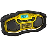 STANLEY FATMAX FMC770B-XE 18V Lithium-ion FM/AM Bluetooth Compact Radio without battery and charger