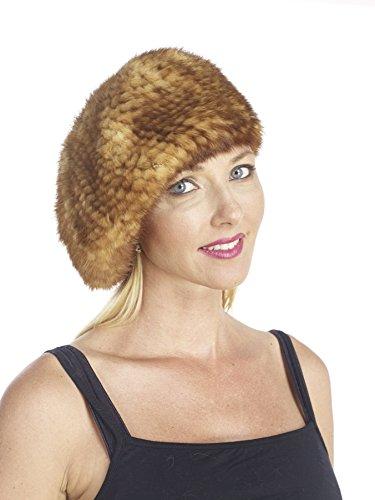 Bugatteli Knitted Mink Beret Hat