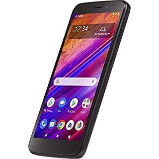 Simple Mobile Blu View 1 4G LTE Prepaid Smartphone (Locked) - Black - 16GB - Sim Card Included - GSM