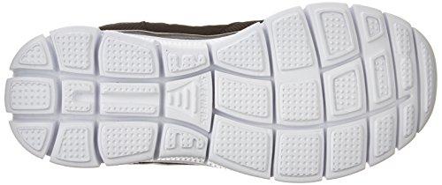 Skechers Flex Fordel Jungen Sneakers Sort / Hvid Efp6VT4E1k