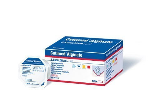 Cutimed Alginate Calcium Wound Dressing 1 x 11.75 Rope (Box of 5) # 7263403 by Cutimed