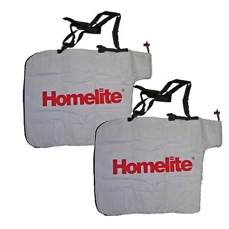 Amazon.com: Homelite ut-08550 soplador (2 unidades) Bolsa ...