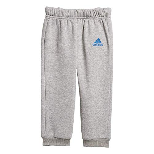 Bianco Grigio Adidas tuta Blu Lin Medium I Pantalone Heather Fl dXxY5Tnpw