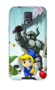 New UKRXANk12606GHcpg The Legend Of Zelda Tpu Cover Case For Galaxy S5
