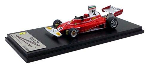 1/43 フェラーリ312T 1975年 アメリカ東グランプリ サイン:ニキ・ラウダ FJM1243023