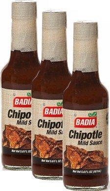 Badia Chipotle Mild Sauce 5.6 oz Pack of 3