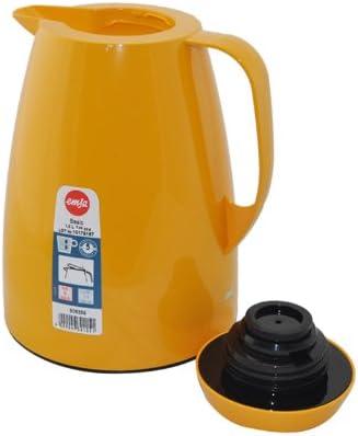 Emsa Basic Jarra Termica, Plastico, Azul, 1 L, 1 Unidad